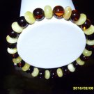 Mixed Beads Natural Genuine Baltic Amber stretch  Bracelet 6.91gr A- 228