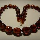Natural Genuine Baltic Pressed Amber  necklace 23,63 gr.B-803