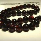 Islamic 33 Prayer beads Natural baltic Amber pressed beads Tasbih  27.69gr B262