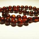 Islamic 33 Prayer Beads Natural Baltic Amber pressed misbaha Tasbih 27.47gr B920