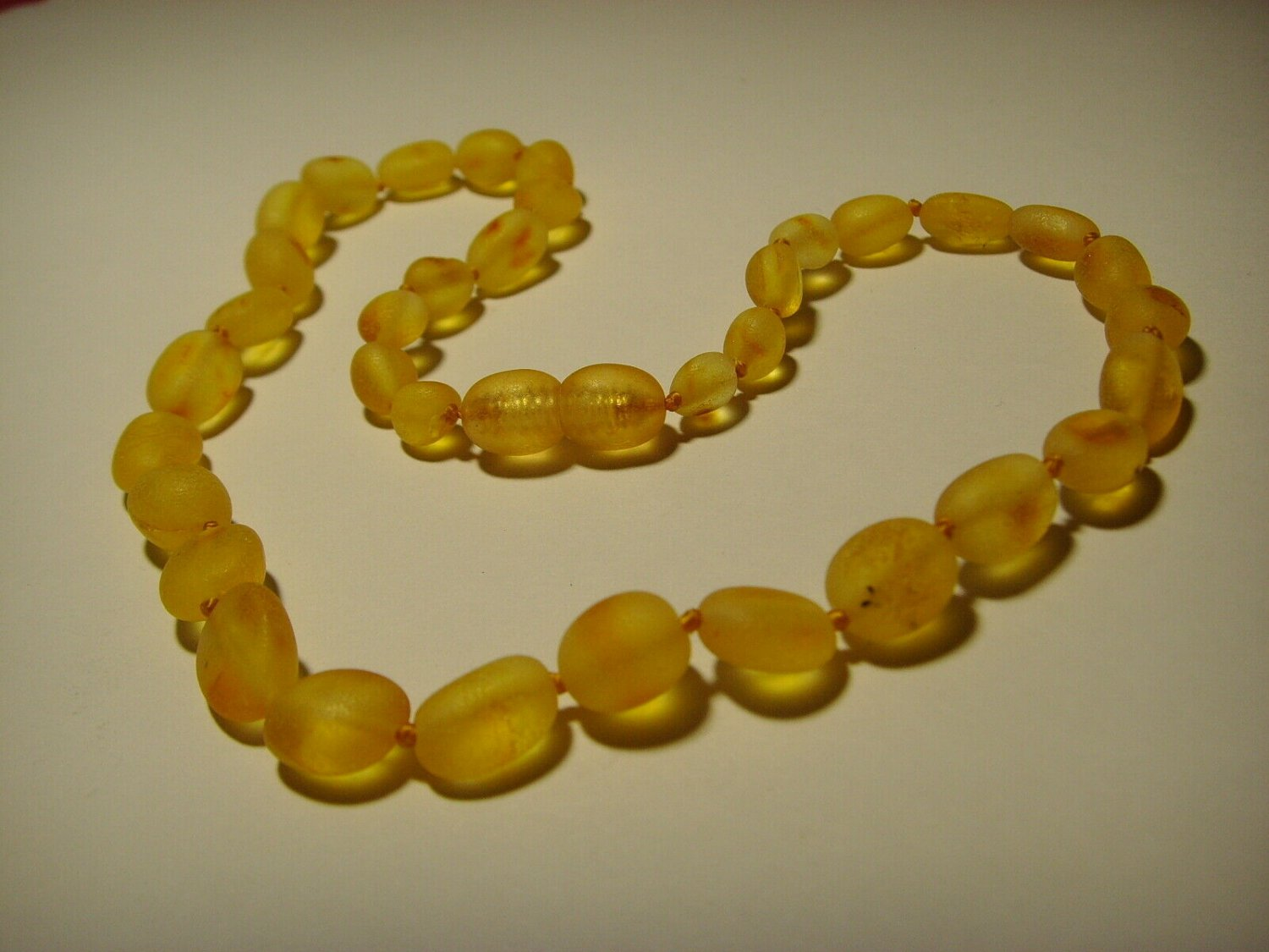 Natural Baby Genuine Baltic Amber Necklaces 7,04gr. A-416