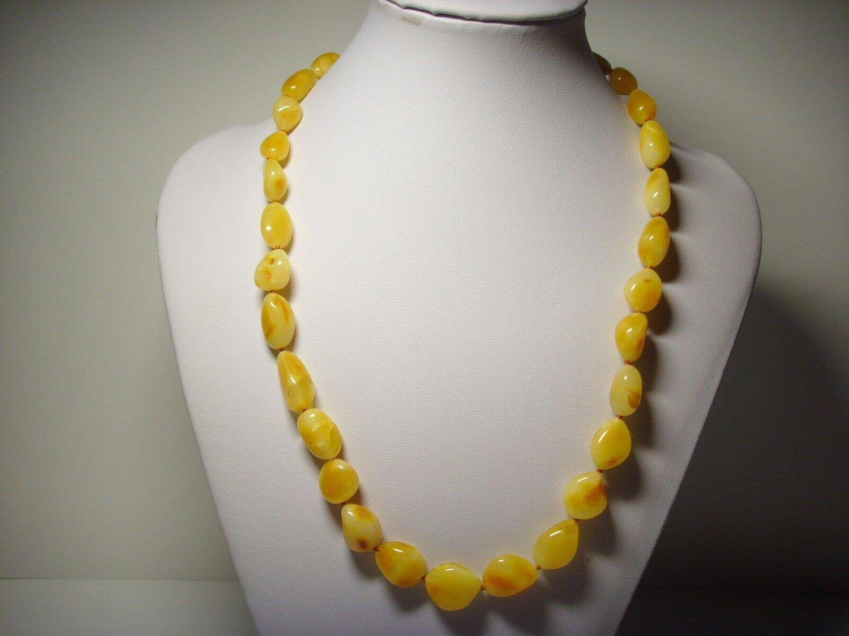Genuine Baltic Amber butterscotch necklace 20.71gr. A145