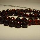 Islamic 33 Prayer beads Natural Baltic pressed  Amber Tasbih  27.42gr B-755