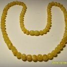 Amber Necklace Natural baltic Amber butter-white beads Ladies 14.70 gr   A-249
