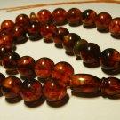 Islamic 33 Prayer beads Genuine Baltic Amber pressed rosary Tasbih 26,98gr B-611