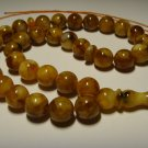 Islamic 33 Prayer beads Natural Baltic Pressed Amber Tasbih  26,91gr B-551