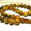 Islamic 33 Prayer Beads Natural baltic Amber pressed Tasbih Muslim 26,72grB-566