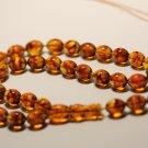 AMBER pressed Islamic 33 Prayer beads Natural Baltic Amber Tasbih 28.10gr B-860