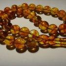 Islamic 33 prayer beads Genuine baltic pressed amber tasbih Misbaha 26,83grB-481