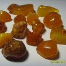 Authentic Baltic Amber 14 Unit Stones 20.47grams  N-18