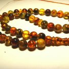 Islamic 45 Prayer beads Genuine Baltic pressed amber Tasbih Misbaha 27.28gr B-40