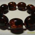 Amber bracelet Genuine Baltic Pressed Amber   Bracelet 26.08gr B-90