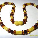 Mixed Beads Natural Genuine Baltic Amber Necklace 11.40 gr. A-134