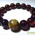 Amber bracelet  Genuine Baltic Pressed  Amber Bracelet  20.48 gr B-30