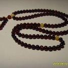 Buddhist Mala 108 Prayer Round Beads Natural Genuine Baltic Amber 6.30gr A-511