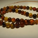 Natural Baltic AMBER pressed Islamic 45 Prayer beads Tasbih Misbaha 37.72gr B-86