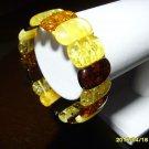 Exclusive Genuine Mix colour Baltic Amber Bracelet 20.43 gr. A-117