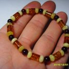 Mixed Beads Genuine Baltic Amber Bracelet 5.79gr A-138