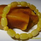 Mixed Bead Butter Genuine Baltic Amber  Bracelet for men for women 8.92gr. A-509