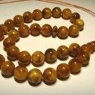 Islamic 33 Prayer beads Genuine baltic Amber Pressed beads tasbih  26,93gr B-563