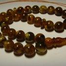 Islamic 33 Prayer beads Genuine Baltic Pressed Amber Tasbih 27,10gr B-574