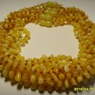 Lot of 10  Baby Genuine Butter Baltic Amber Necklaces 44.82gr. F-28