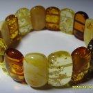 Exclusive Genuine  Baltic Amber Bracelet 19.18 gr. A-14