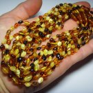 Lot of 10  Baby Color mix Genuine Baltic Amber Necklaces 34.12gr. F-37