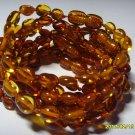 Lot of 10 Wholesale Baby Cognac  Genuine Baltic Amber Bracelets 18.43gr. C-114