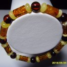 Mixed Beads Genuine Baltic Amber Bracelet 6.23 gr. A-162