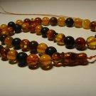 Islamic 45 Prayer beads Natural Baltic pressed amber Tasbih Misbaha 35.75grB-653