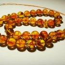 Islamic 33 Prayer beads Genuine Baltic Amber pressed Tasbih Misbaha 36.29gr B113