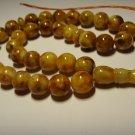 Islamic 33 Prayer beads Genuine Baltic pressed Amber tasbih  34,75gr B-647