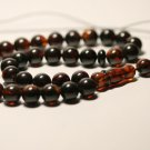 Islamic 33 prayer beads Natural baltic Pressed Amber Tasbih  29.27grB-839
