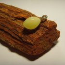 Natural Genuine Baltic Amber Pendant with silver 1.49gr A418