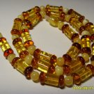 Authentic Mixed Beads  Natural Baltic Amber Necklace for women 12.50 gr. A-445