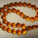 AMBER pressed Islamic 33 Prayer Round  Genuine Baltic Amber 26,60gr B-629