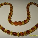 Authentic Mixed Beads Genuine Baltic Amber Necklace 10.38gr. A-438