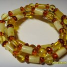 Authentic Mixed Beads Genuine Baltic Amber Necklace 11.17 gr. A-136