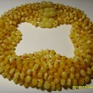 Lot 10 Wholesale Butter Baby Genuine Baltic Amber Necklaces 45.43gr. F-16