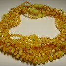 Lot  10 Wholesale Baby Genuine Butter Baltic Amber Necklaces 32gr. F-44