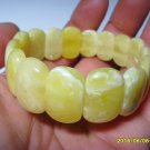 White-Butter Genuine Baltic Amber Bracelet For Adults  20.42gr. A-329