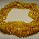 Lot 10 Wholesale Baby Genuine Butter Baltic Amber Necklaces 33,19gr. F-233