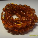 Lot of 10 Baby Cognac  Genuine Baltic Amber Bracelets 17.62gr. C-131