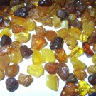 Loose beads Natural baltic Amber beads for jewelry without hole  100 gr.