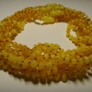 Lot of 10 Baby Genuine Butter Baltic Amber Necklaces 40,80gr. F-229