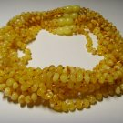 Lot of 10 Baby Genuine Butter Baltic Amber Necklaces 42,67gr. F-59