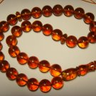 AMBER pressed Islamic 33 Prayer Round  Genuine Baltic Amber 27,50gr B-642