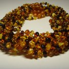 Lot 10 Amber Necklace Genuine baltic amber  beads for kids babies 50.77gr. F 262