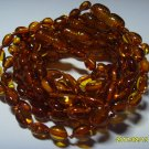 Lot of 10 Baby Cognac  Genuine Baltic Amber Bracelets 18.35gr. C-113